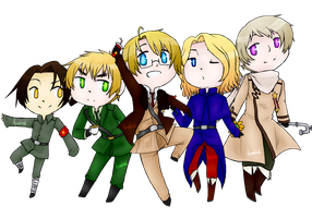 Hetalia - Allied Forces [Digital] by RabentheHedgehog15
