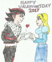 Valentne's Day 2017 by SHADOWLOUIX