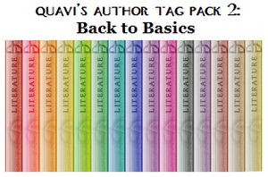 Quavi's Author Tag Pack 2 -now 20x125!- by unusual-fish