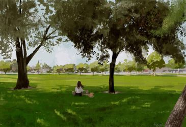 We went to the park this morning. by PascalCampion