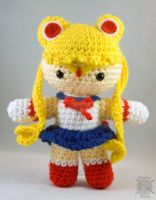 Sailor Moon Amigurumi by pirateluv