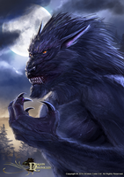 Dragon Chronicles - Werewolf-Lycan by RobertCrescenzio