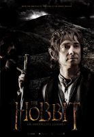 The Hobbit - Movie Poster by JSWoodhams
