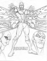 Young Justice CD Brainiac by nathanscomicart