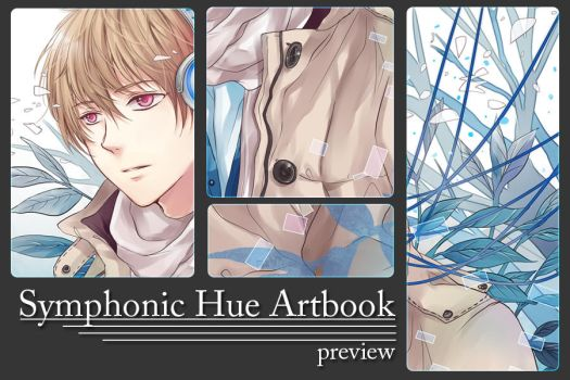 Symphonic Hue Artbook review by jaerika