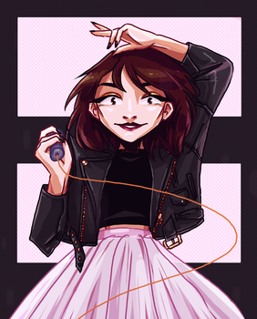 commission - lauren mayberry by omoulo