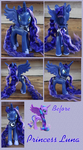 Commission: Princess Luna by phasingirl
