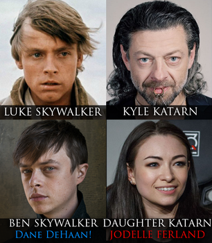 Son of Skywalker and Daughter of Katarn by nelostic
