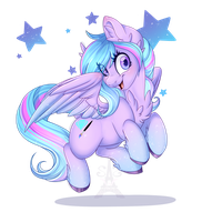 Diamond Spark (AT) by Silent-Shadow-Wolf