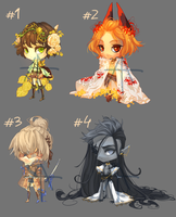 [19] [CLOSE] Auction - chibi boys by Hell-Alka