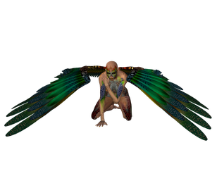 STOCK PNG angel of colour3 by MaureenOlder