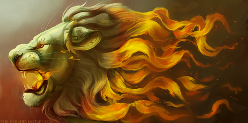 He Burns Like The Sun by TheVerdantHare