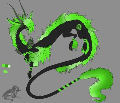 Zodiac Dragon Auction -closed- 1/12 by Adopt-Critters