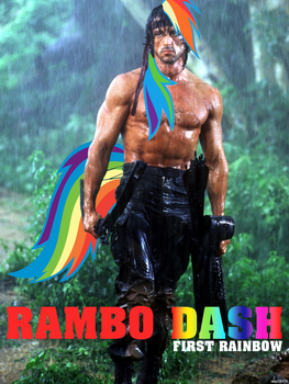 Rambo dash by darknakoh