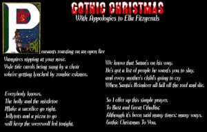 Gothic Christmas by marcony