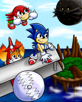 Sonic 3 and Knuckles 20th Anniversary Tribute by hotcheeto89