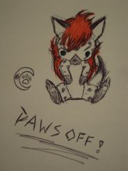 Paws Off by Midnight-Ivy