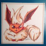 Flareon for Lemidoodle by Hantah