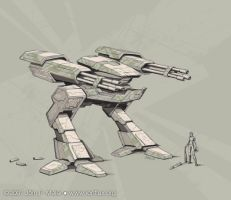 Mech by IonfluxDA