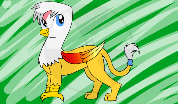 AT: Phoenix teh gryphon by atomic-kitten10