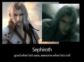 Motivational Sephiroth's Sane? by vixen2NE1