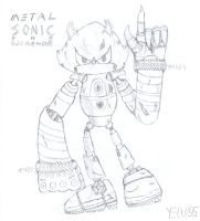 Metal Sonic the Werehog by Yeow95