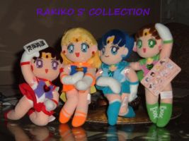 Super S  inner plushies FOR SALE as set by RakikoHime
