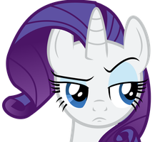 Rarity Face by liamwhite1