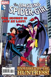 Spider-Girl VS Huntress | Comic Book Cover by Cotterill23