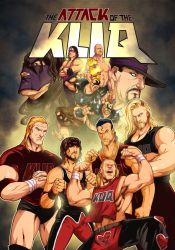 WWE Attack of the Kliq by edwinhuang