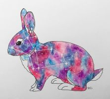 Space Animals: Rabbit by RG-Arts