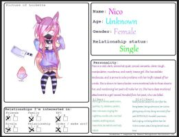 Nico Relationship Form by SerahTheSeraph