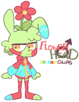 Flower Head by DINKY-INK