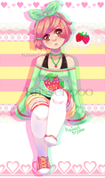 Strawberry Heart by krissehpoo