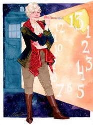 Helen Mirren, the 13th Doctor by kevinwada