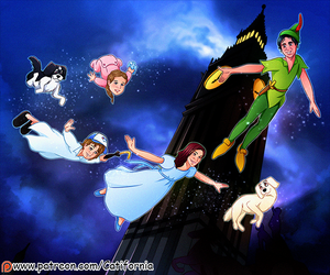 Portrait for Our friend as Peter Pan Characters by Catifornia