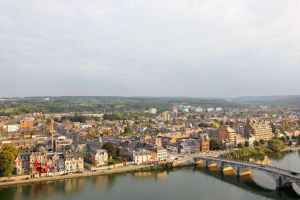 View on Namur from the Citadel-2 by Lissou-photography