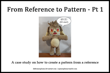 From Reference to Pattern: A Case Study - Pt 1 by Diffeomorphism