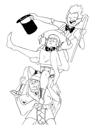 Draw Your Squad Storymode by allhailinsanity