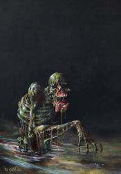 Sewer ZOMBIE  by THE GURCH by TheGurch