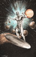 Silver Surfer Final by ChrisMcJunkin