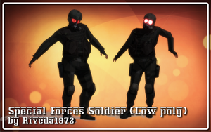[MMD] Dead Rising Special Forces (PMX Download) by Riveda1972