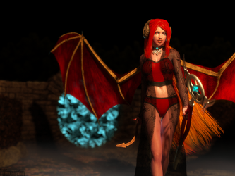 The Demoness Is Summoned by TheOtherThoreandan