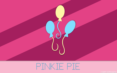 Pinkie Pie Wallpaper by CoolRainbow20