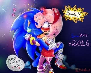 |CE: SonAmy| Grawr means: I love you by HimeMikal