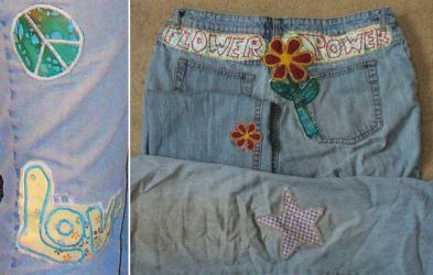 Patches for old jeans by dv-girl