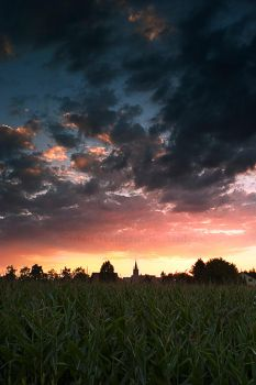 Late German Summer Sunset by billsabub