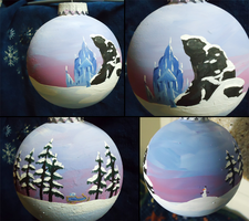 'Frozen' Ornament by dragonsong12