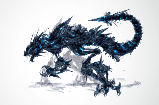 Coldfire Hound by ChasingArtwork