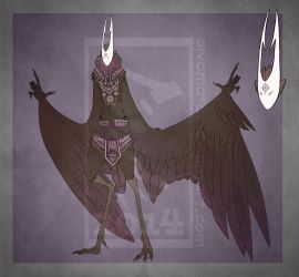 Auction #17 Harpy [Closed] by Aivomata